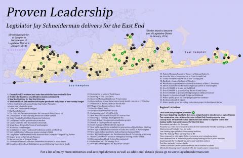 Jay Schneiderman Leadership Map